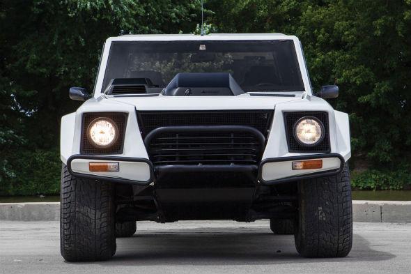 Lamborghini LM002 up for auction