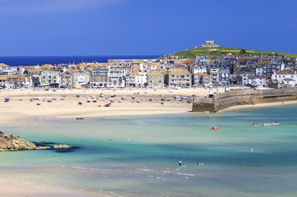 St Ives in Cornwall is UK's most expensive seaside holiday destination