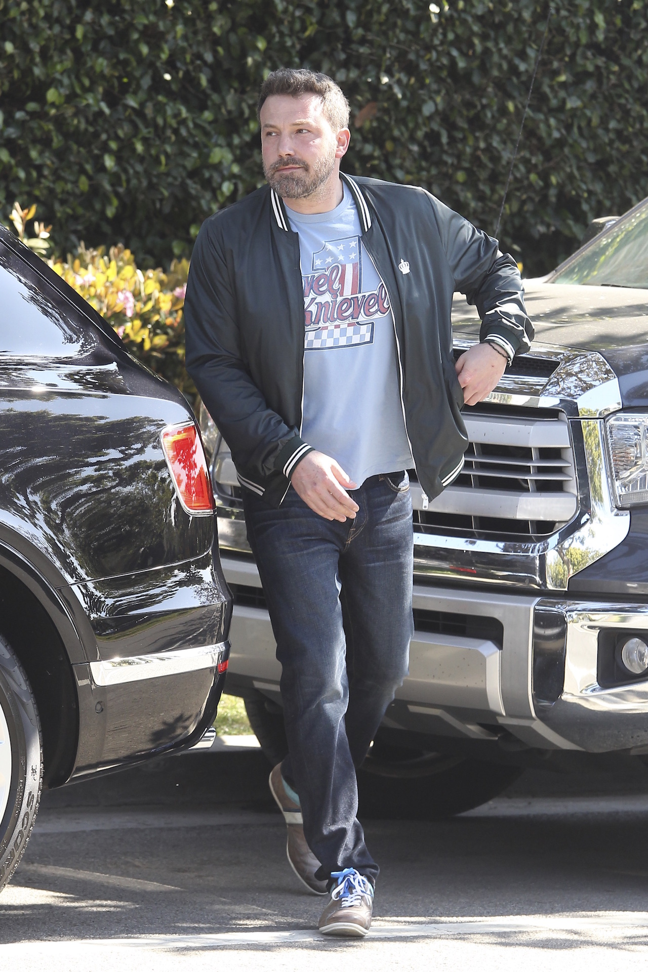 Ben Affleck and daughter Serafina bundle up in Santa Monica, CA. <P> Pictured: Ben affleck <B>Ref: SPL1464731  200317  </B><BR/> Picture by: Splash News<BR/> </P><P> <B>Splash News and Pictures</B><BR/> Los Angeles: 310-821-2666<BR/> New York: 212-619-2666<BR/> London: 870-934-2666<BR/> photodesk@splashnews.com<BR/> </P>