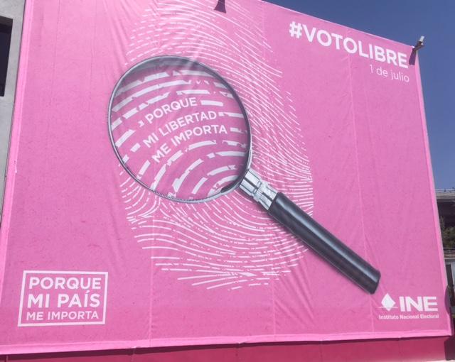 #VotoLibre y libertad en el