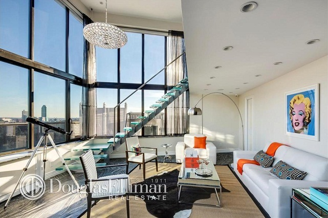 living room frank sinatra apt nyc