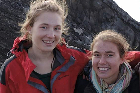 shipwrecked sisters tell of swim to safety after tourist boat sinks