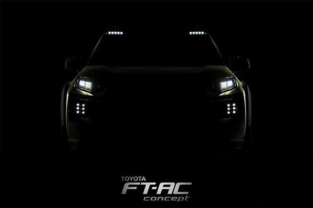 トヨタ、新型オフロード車を示唆するコンセプトカー「FT-AC」のティーザー画像を公開
