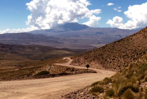 Andes trail