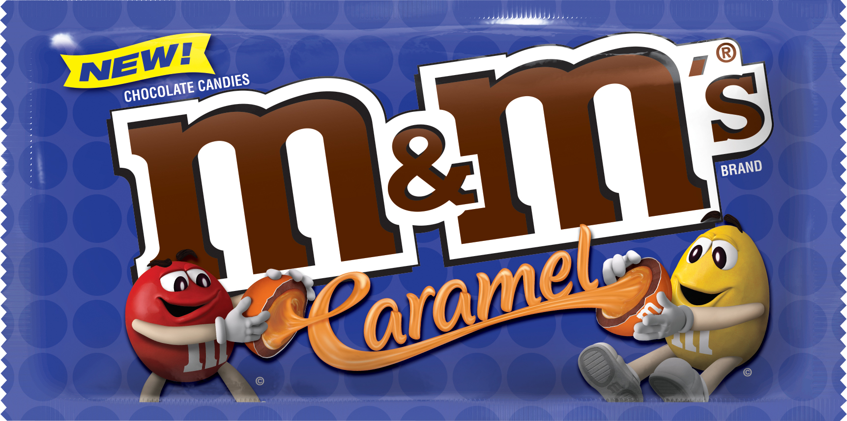 M&Ms new caramel flavor