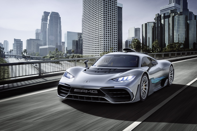 Mercedes-AMG Brings F1 To The Street With Project One Show Car