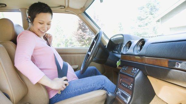 妊婦は自動車衝突事故に遭う確率が高い!