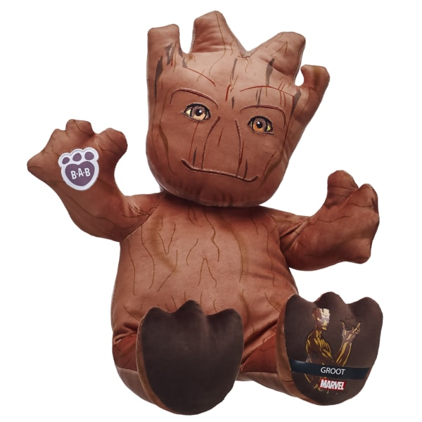 Get Your Own Build A Bear Groot And Rocket Moviefone