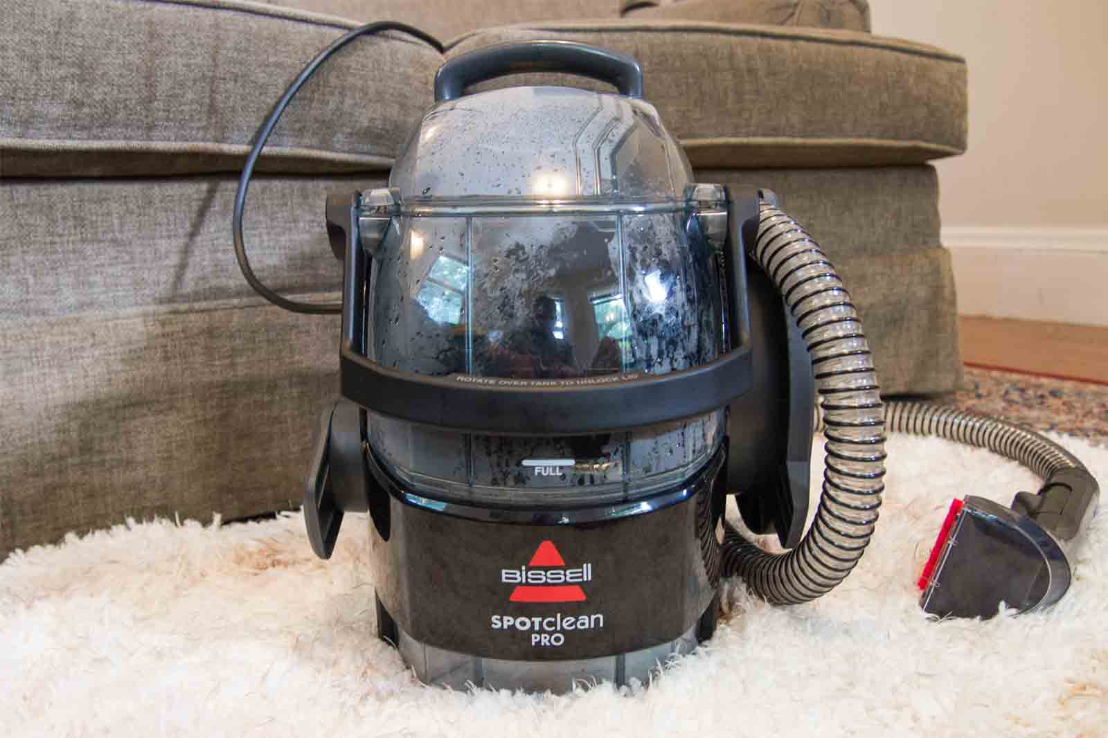 The best portable carpet and upholstery cleaner