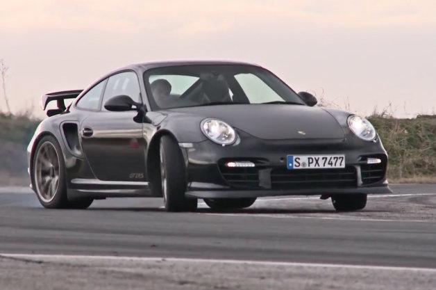 【ビデオ】ポルシェ「911 GT2 RS」とメルセデス「SLS AMGブラックシリーズ」が対決!
