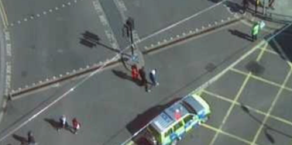 Bus crashes in west London kill two people