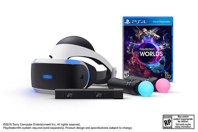 完全沉浸在 PS VR 世界所需要的,Sony 都替你集齊了