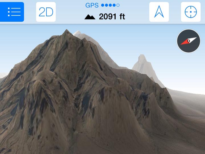 Android Topographic Map App.Maps 3d Pro Is A Best In Class Gps Nav App For Outdoor Enthusiasts