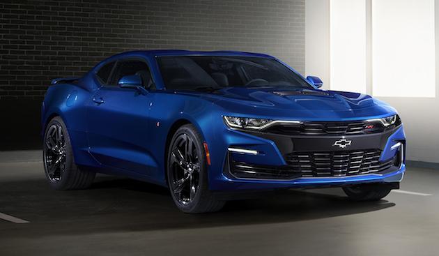 シボレー、大きく顔が変わった「カマロ」の2019年モデルを発表! 新たに直列4気筒ターボ・モデルにも「1LE」パッケージを設定
