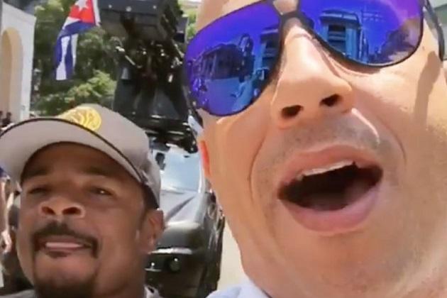 ヴィン・ディーゼル、キューバのハバナで『ワイルド・スピード』シリーズ第8作目を順調に撮影中!
