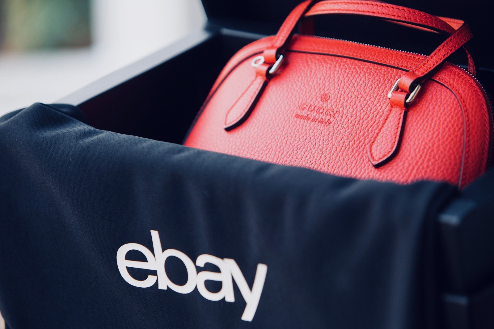 1c947ee477a99 Launch of eBay Authenticateô Boosts Shopper Confidence for Luxury Handbag  Purchases (PRNewsfoto eBay. Amazon s counterfeit ...