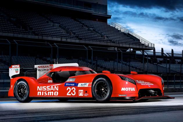 まさかの前輪駆動! 日産、今年のル・マン参戦マシン「NISSAN GT-R LM NISMO」を発表