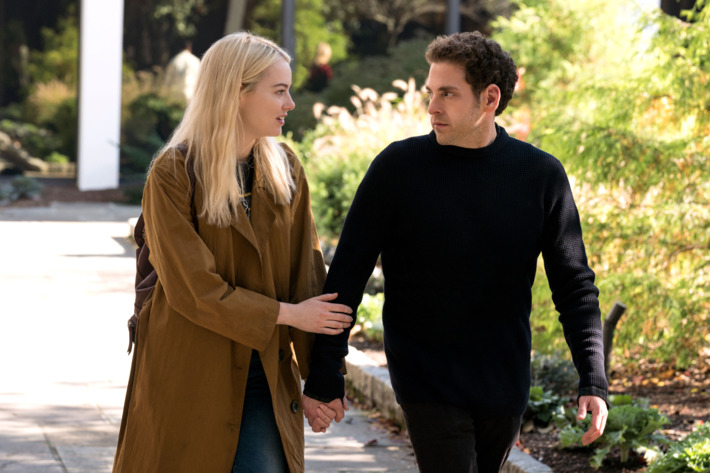 Get your first look at Jonah Hill and Emma Stone — Netflix's Maniac