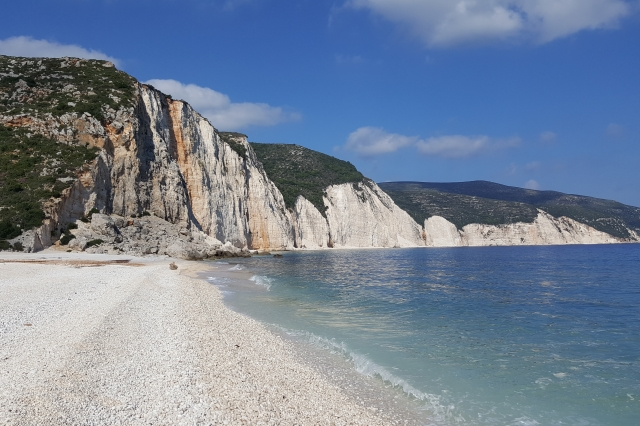 Ftiri beach, Kefalonia