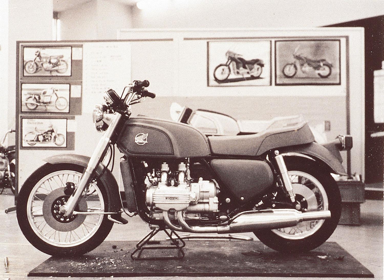 Honda Gold Wing History.