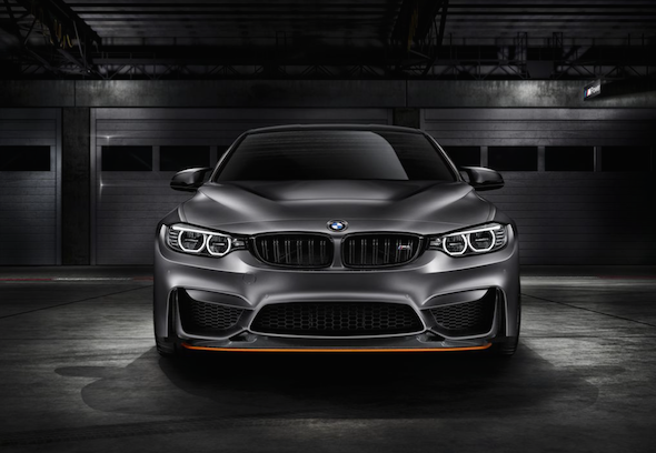 Feast your eyes on BMW's M4 GTS