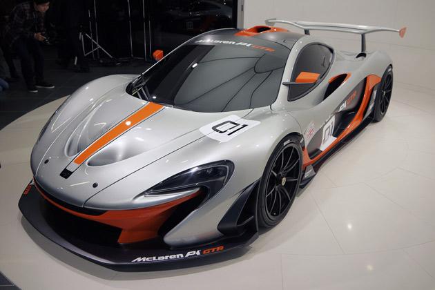 購入者には専用プログラムも用意! 「マクラーレン P1 GTR」が東京でお披露目!