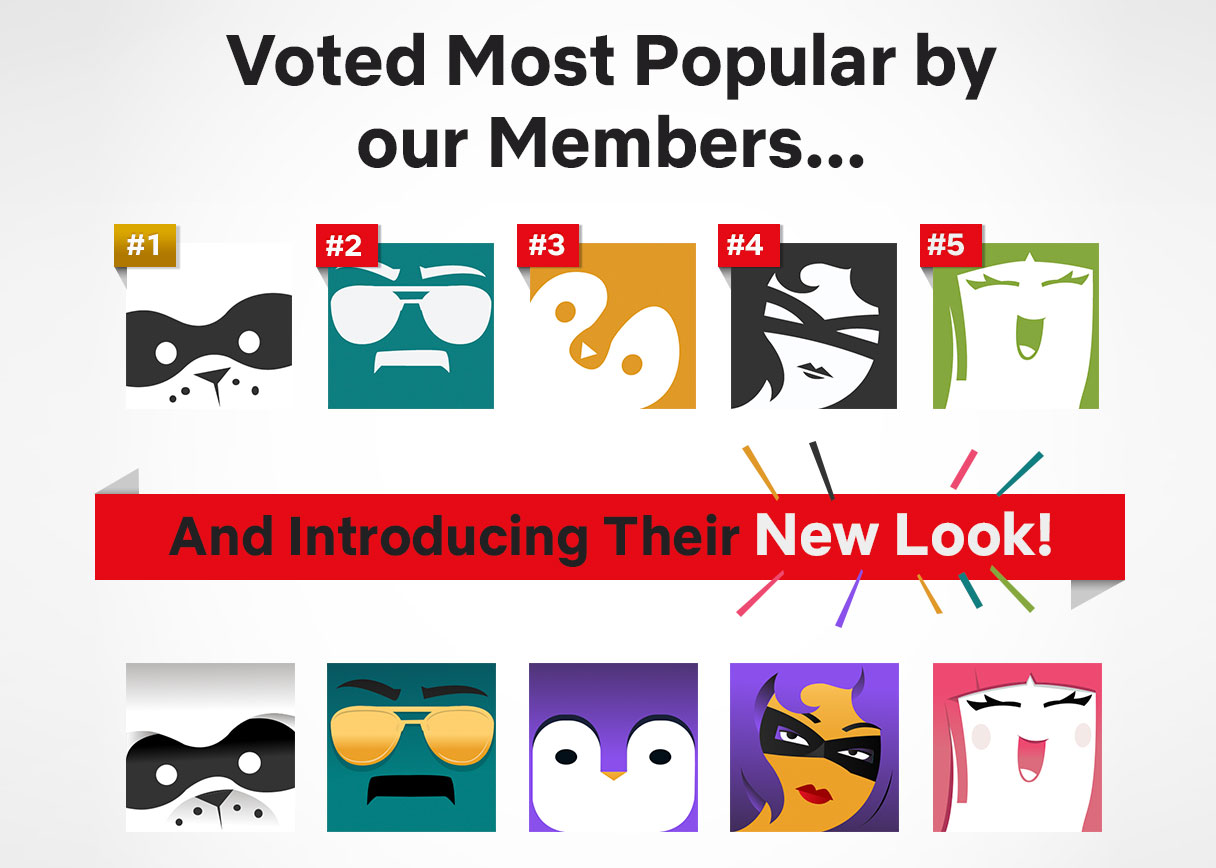 Most popular profile pics