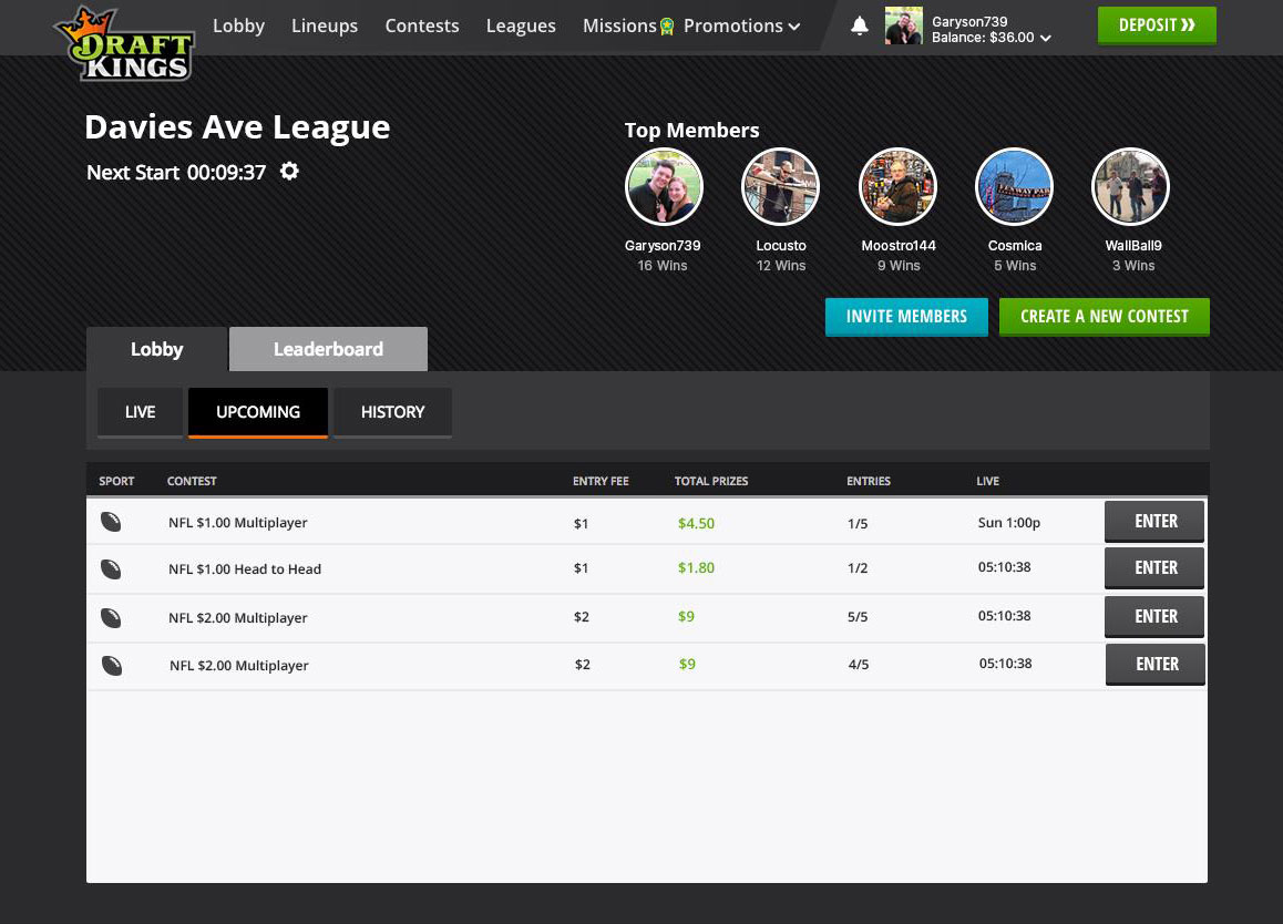 Draftkings And Fanduels Group Features Make Daily Fantasy More Social