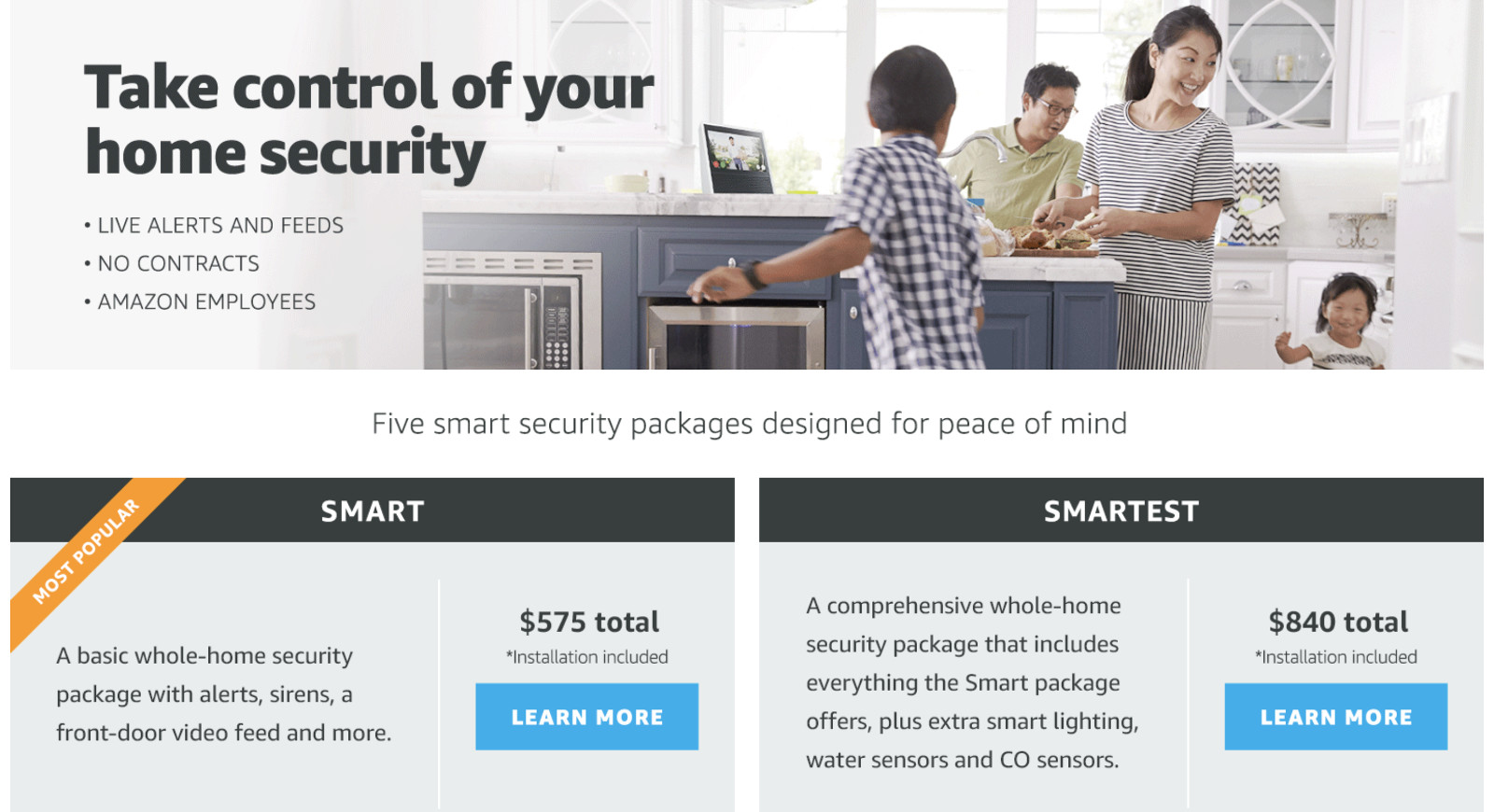 Amazon will install a full smart home security system for you