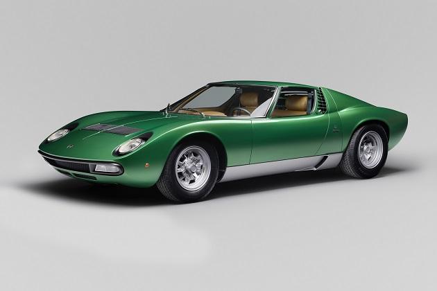 ランボルギーニのレストア部門が手掛けた最初の1台、1971年製「