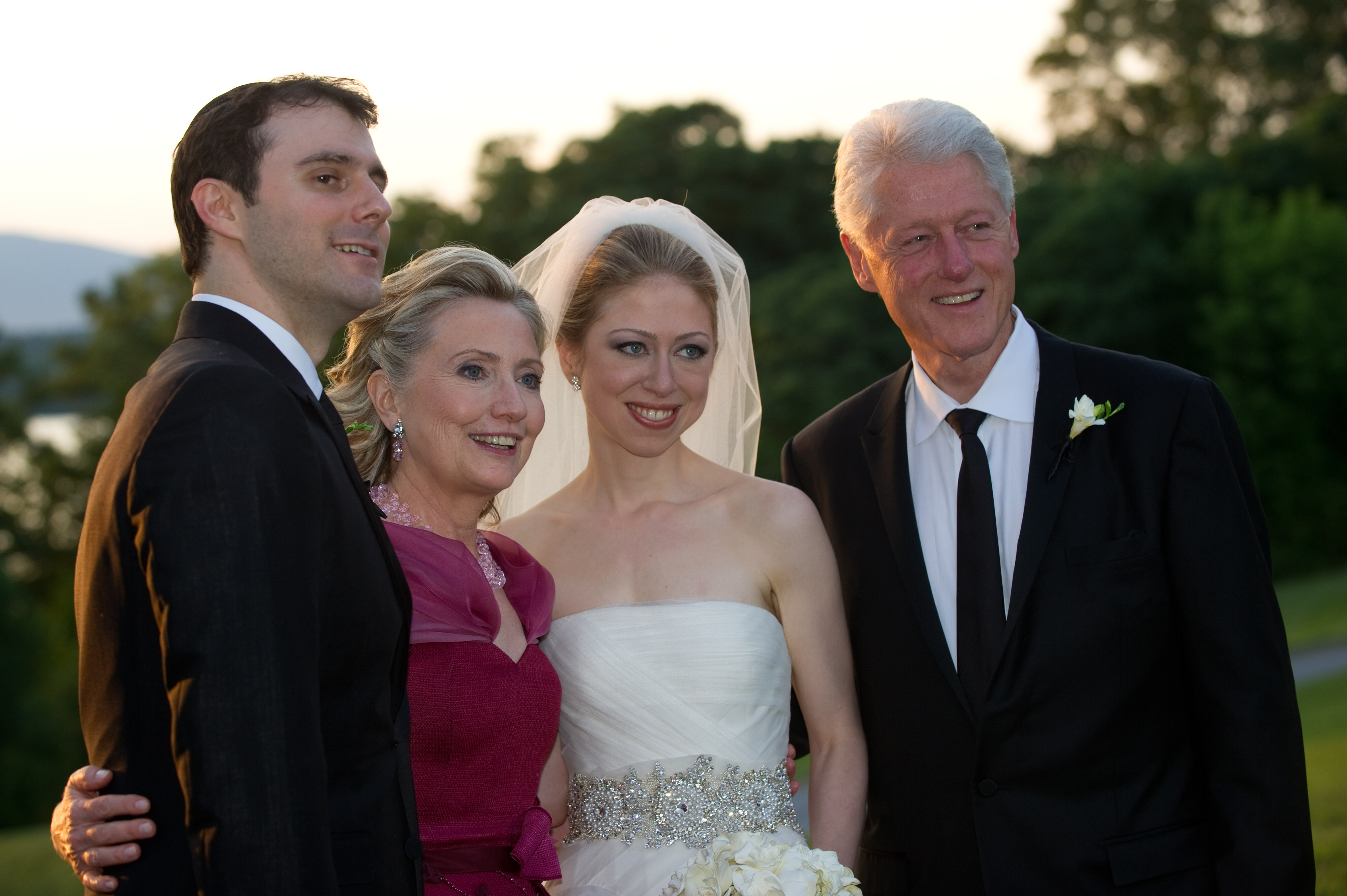 Chelsea Clinton Marries Marc Mezvinsky In Rhinebeck, New York