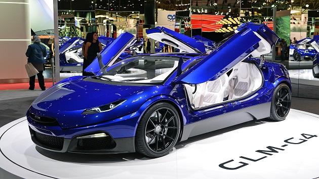 【パリモーターショー2016】京都発GLM、次世代EVスーパーカーのコンセプト「GLM G4」を出展
