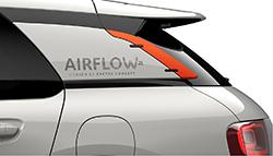 Citroen C4 Cactus Aero 2L concept - rear sail area closeup
