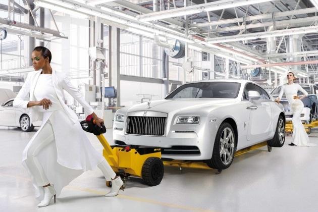 ロールス・ロイス、今度はファッションに触発されたレイスの特別仕様車を発表