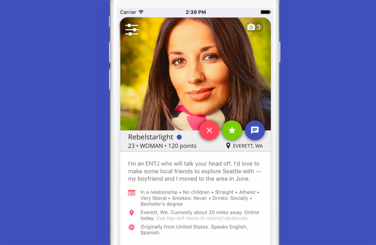 'Tinder for friends' uses AI to block flirty messages