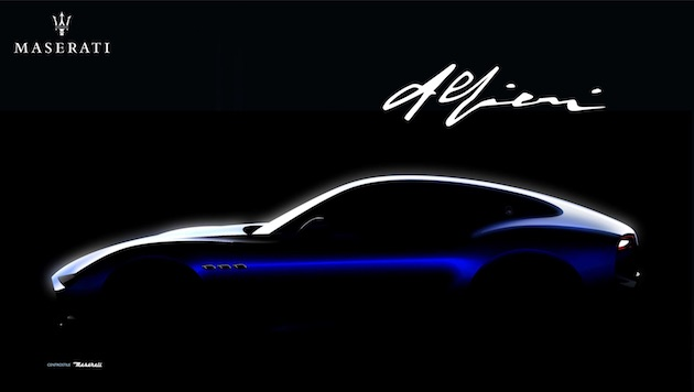 マセラティが5カ年計画を発表 新型電動スポーツカー「アルフィエーリ」は0-100km/h加速2秒以下!