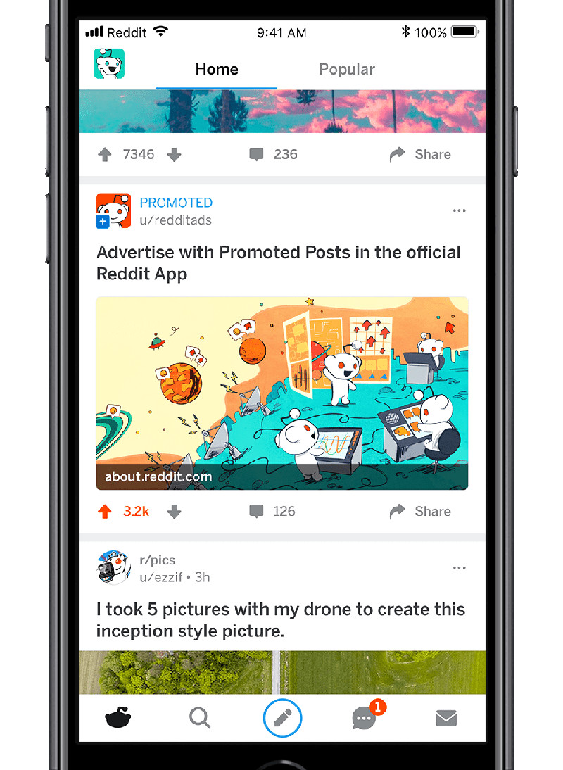 Reddit will blast its mobile apps with promoted posts