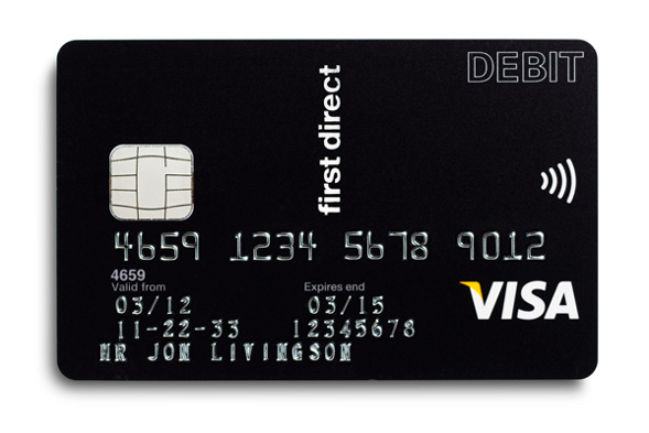 A First Direct Visa card