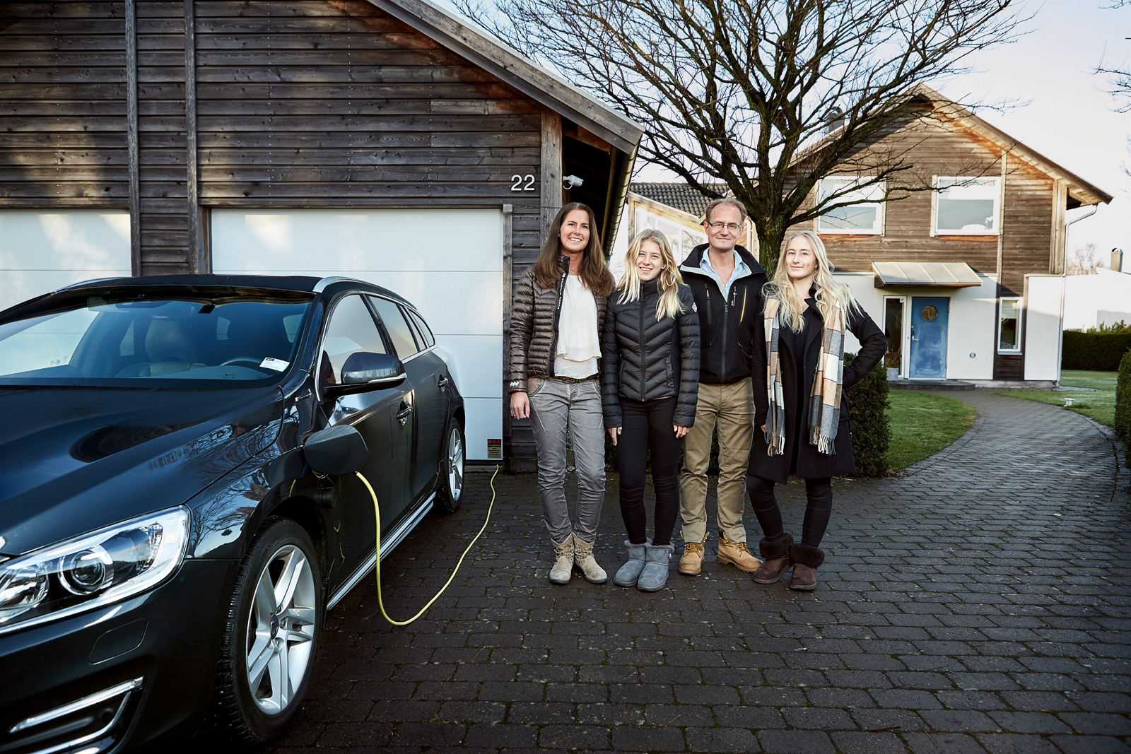volvo is testing self driving cars with real families