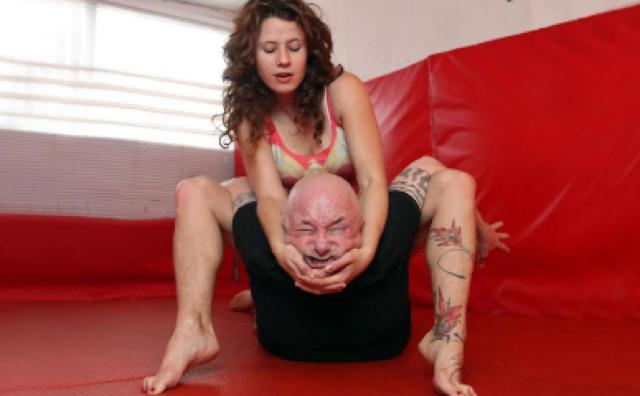 Pinned for pleasure: Inside London's wrestling fetish gym