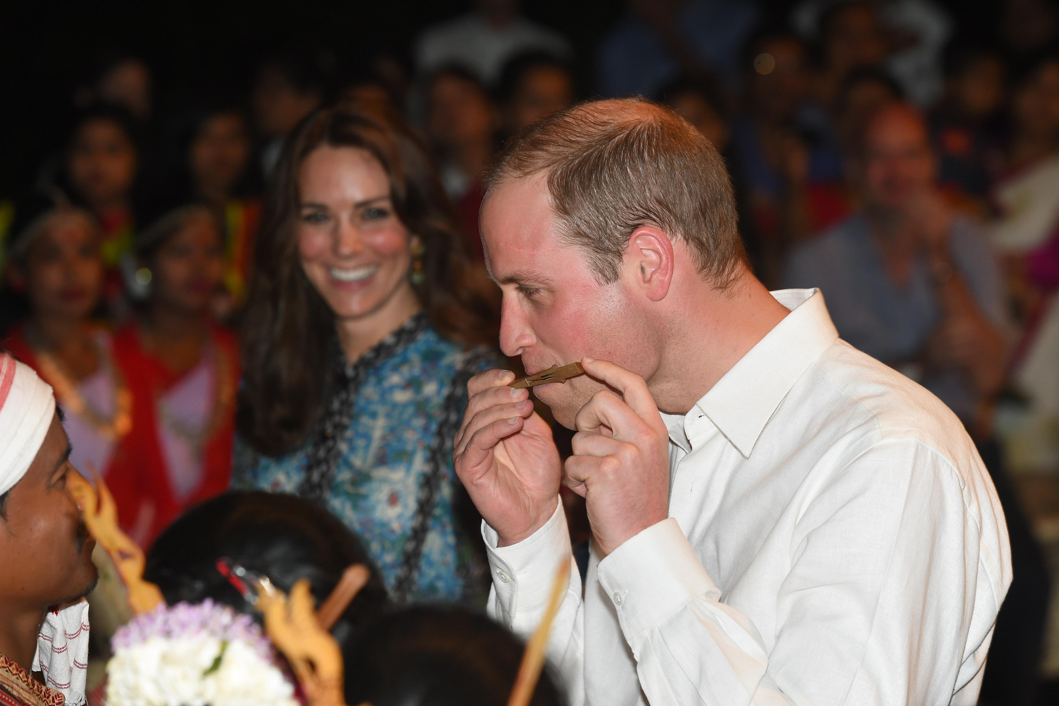 The Duke & Duchess Of Cambridge Visit India and Bhutan - Day 3