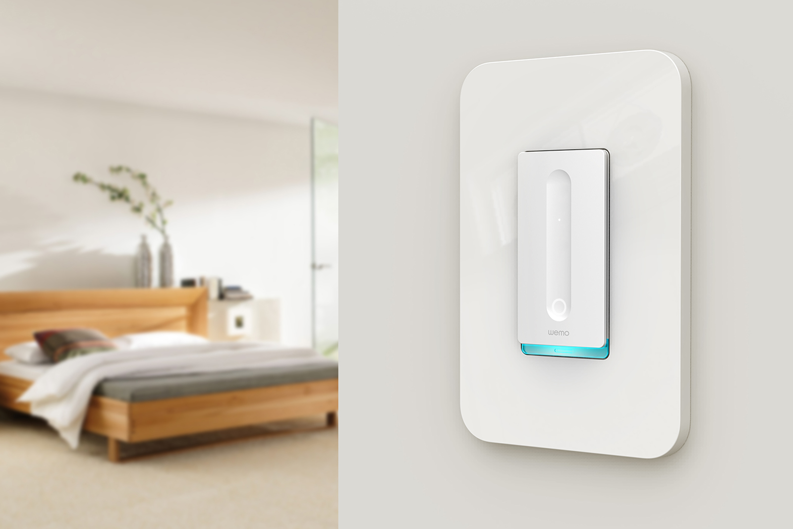 WeMo\'s smart home upgrades include a dimmer switch