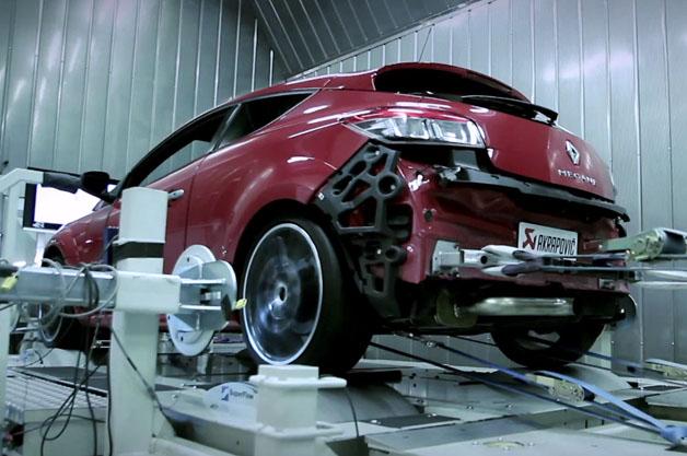 【ビデオ】ニュルの最速FF車を目指す「メガーヌ ルノー・スポール」の映像が公開