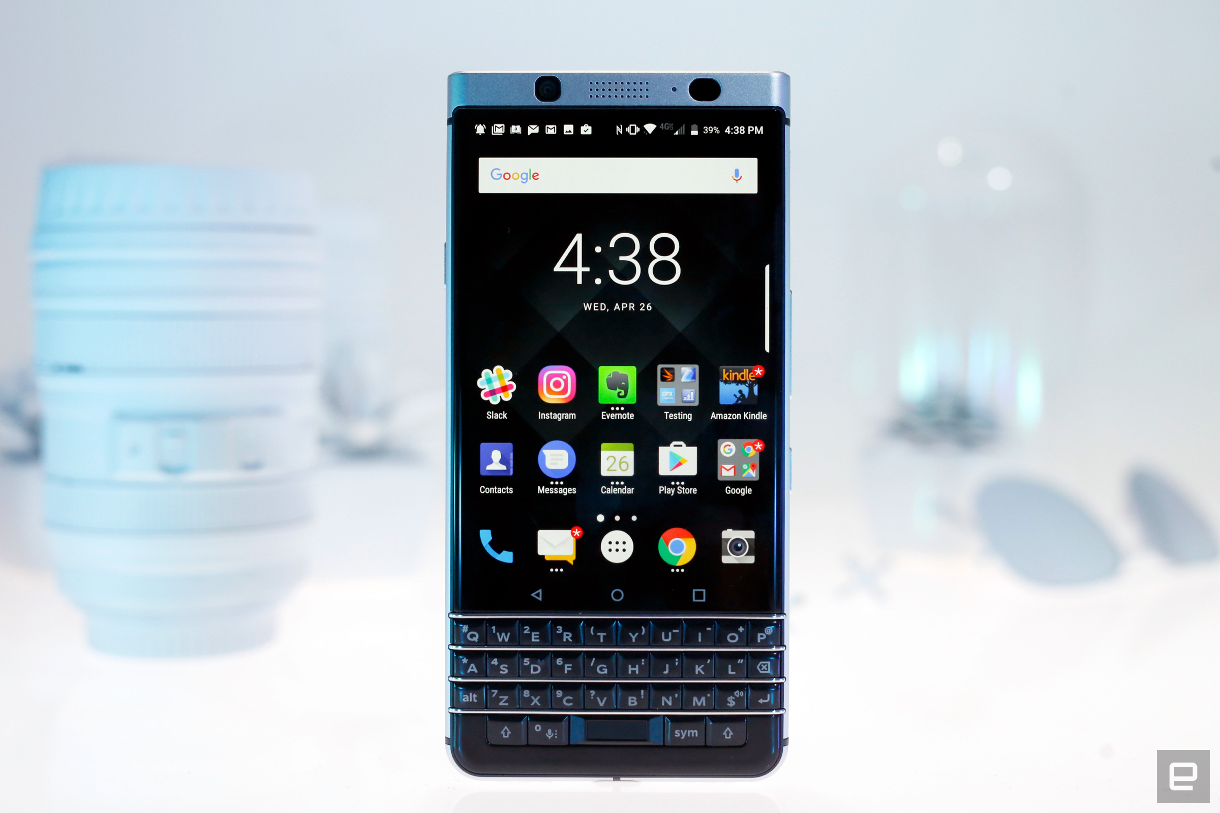 The Blackberry Keyone Isn T A Flagship Level Device So You Shouldn Expect It To Perform Like One After All S Very Specific Addition
