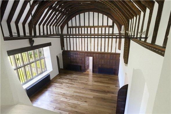 The Great Hall at Yaldham Manor