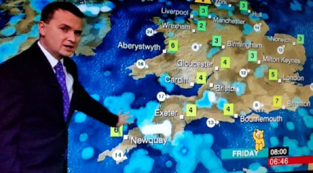 Phallic-shaped snow cloud heading to Devon