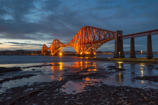 Forth Bridge voted Scotland's best manmade wonder