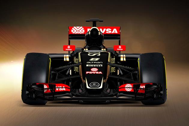ロータスF1チーム、2015年F1世界選手権参戦用マシン「E23 ハイブリッド」を発表