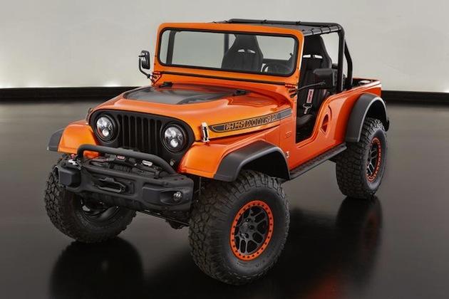 ジープ、新旧3台のモデルを融合させた「CJ66」をSEMAショーで公開
