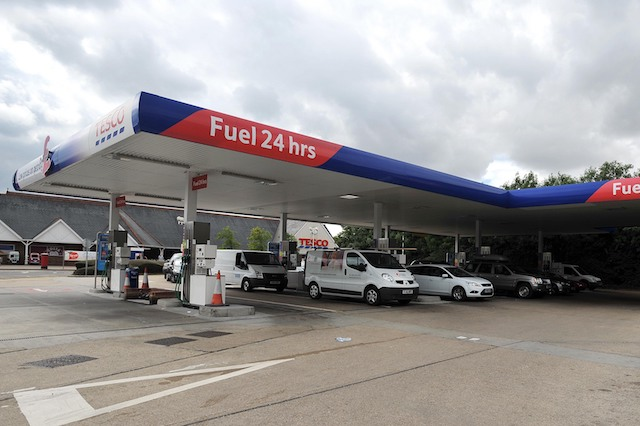 A view of a Tesco petrol station in Chelmsford, Essex. PRESS ASSOCIATION Photo. Picture date: Thursday August 15, 2013. Photo credit should read: Nick Ansell/PA Wire